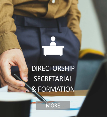 DIRECTORSHIP SECRETARIAL AND FORMATION